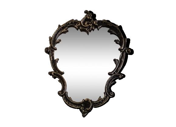 Miroir style rocaille baroque 35x45cm