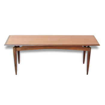 Table basse Scandinave rectangulaire - Vintage