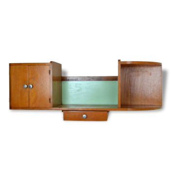 meuble de rangement de couleur verte vintage d 39 occasion. Black Bedroom Furniture Sets. Home Design Ideas