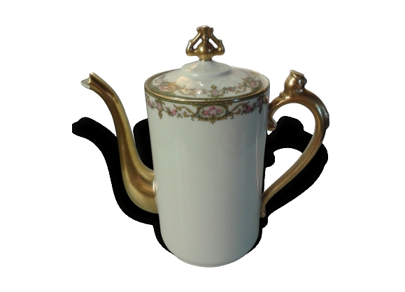 Cafetière porcelaine de Limoges CFP