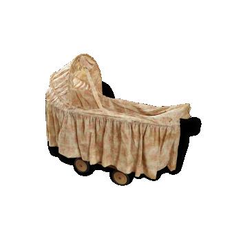 berceau couffin lit d 39 enfant vintage d 39 occasion. Black Bedroom Furniture Sets. Home Design Ideas