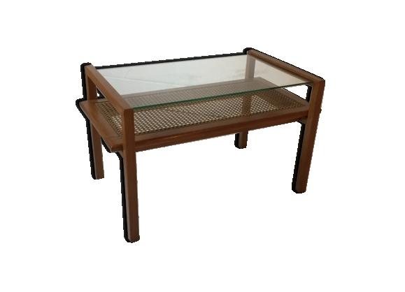 Table à double plateaux des années 50