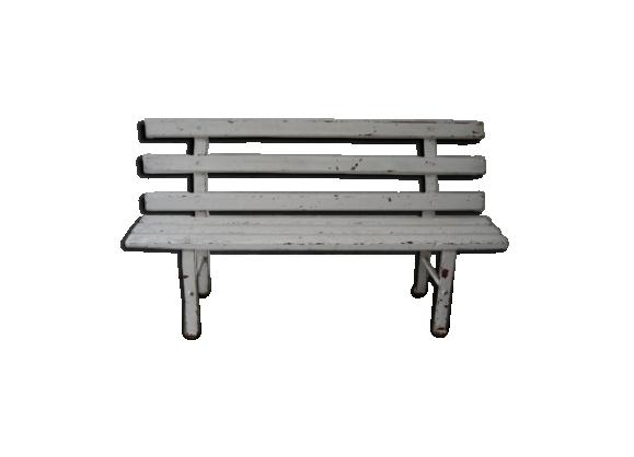 jardin banc acier. Black Bedroom Furniture Sets. Home Design Ideas