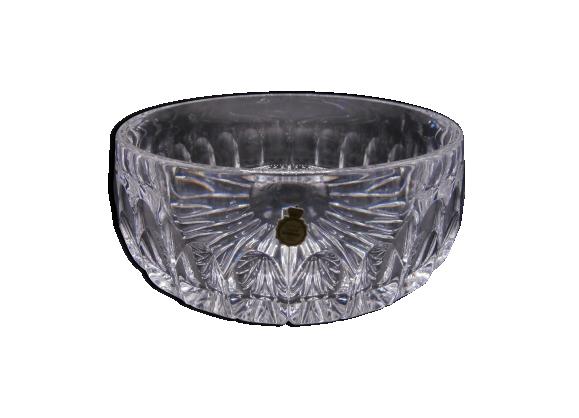 Plat creux en cristal