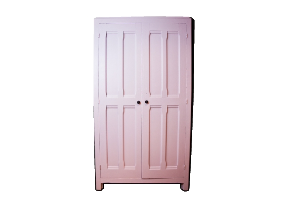 Armoire parisienne vieux rose taupe liberty