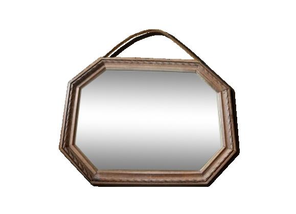 Bois octogonale achat vente de bois pas cher for Miroir octogonal