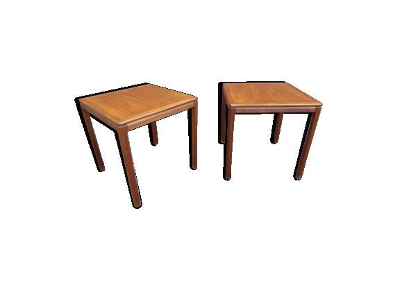 Paire de tables basses scandinaves modèle Florida par Folke Ohlsson
