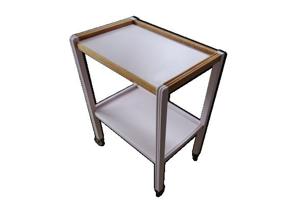Table desserte roulante - Table roulante 3 plateaux ...