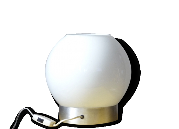 lampe design a poser lampe galet cansiglio luminaire With carrelage adhesif salle de bain avec combien coute une ampoule led