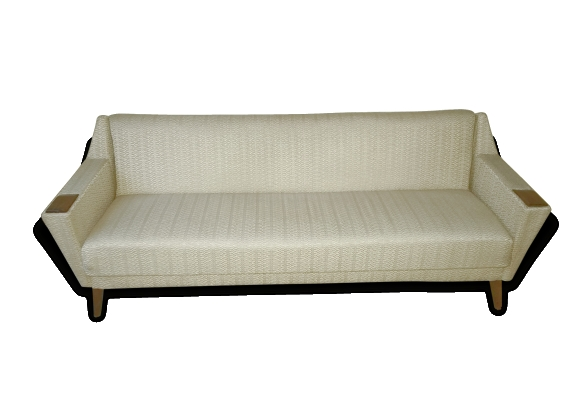 Sofa club design Architectural daybed cliclac années 50/60 danois vintage