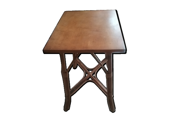 Table bambou