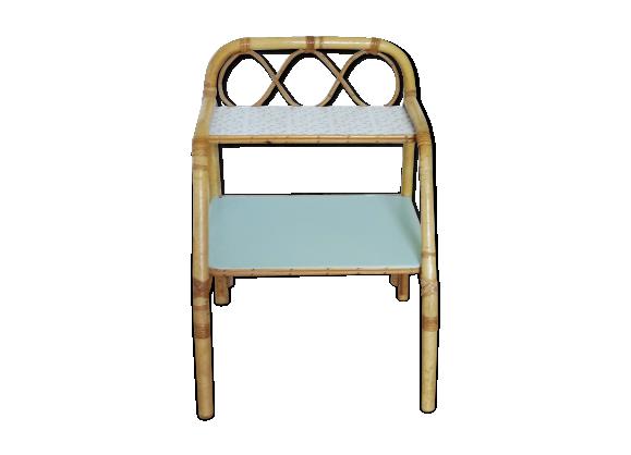 chevet en rotin rotin et osier bleu bon tat vintage d2870ec69c533c32945ae4bbf40e42b5. Black Bedroom Furniture Sets. Home Design Ideas