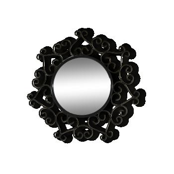 Miroir fer forgé chaty vallauris