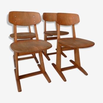 Ensemble de 4 chaises Casala