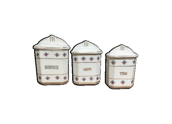 Ensemble de 3 pots à épices