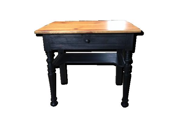 bureau secr taire bois. Black Bedroom Furniture Sets. Home Design Ideas