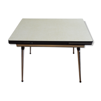 Table en formica vintage d 39 occasion for Table cuisine annee 60