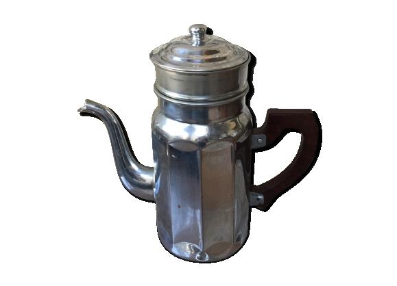 Cafetière métal et bakelite