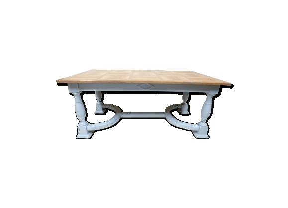 Table baroque à entretoise