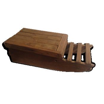 meuble platine vinyles hifi teck bois couleur dans son jus vintage. Black Bedroom Furniture Sets. Home Design Ideas