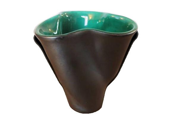 Vase en céramique elchinger années 50 60