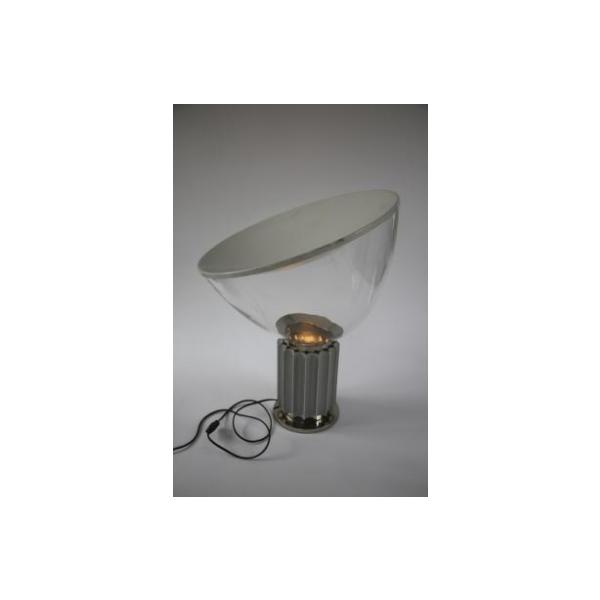 Lampe taccia par pier giacomo achille castiglioni pour flos m tal t - Tabouret bar transparent ...