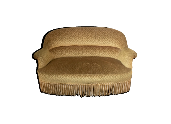 canap velours achat vente de canap pas cher. Black Bedroom Furniture Sets. Home Design Ideas