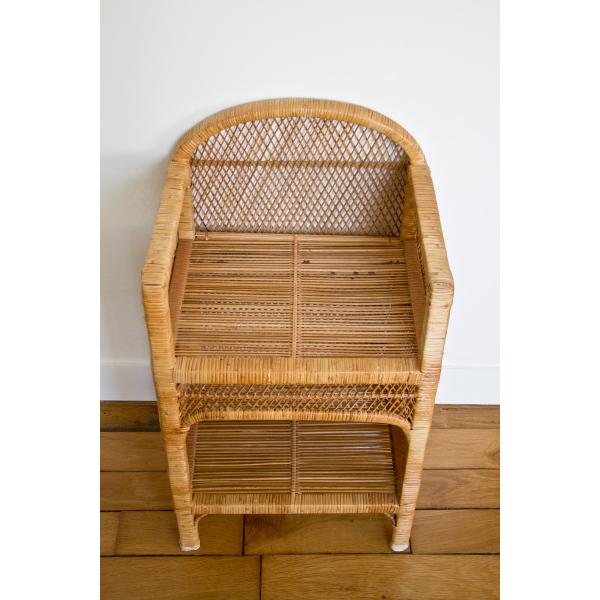 etagere en osier rotin et osier jaune bon tat vintage 99ce6c3a512d3932b65f528f132c5488. Black Bedroom Furniture Sets. Home Design Ideas