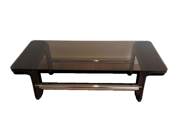 Table basse design noir
