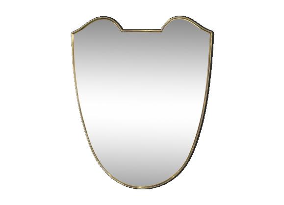 Miroir italien cuivre