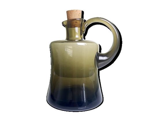 PIchet en verre soufflé épais artisanal