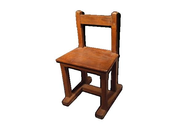 Chaise vieux teck