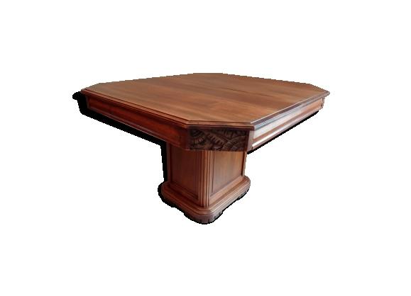 Table extensible art déco