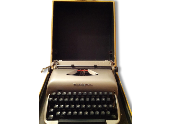 Machine à ecrire Remington