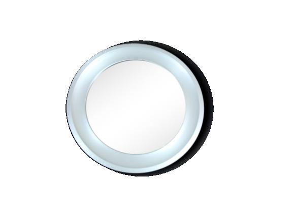 miroir rond en laiton anodis le fait main. Black Bedroom Furniture Sets. Home Design Ideas