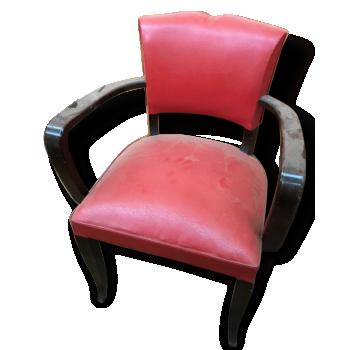 fauteuil coquille en rotin bois mat riau bois. Black Bedroom Furniture Sets. Home Design Ideas