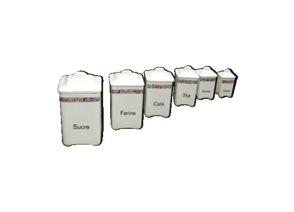 6 pots a épices