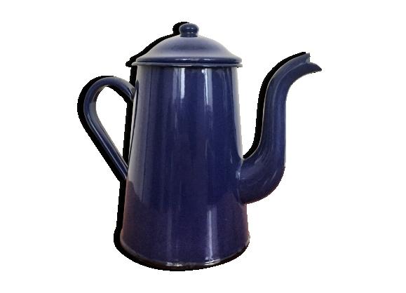 cafeti re bleu achat vente de cafeti re pas cher. Black Bedroom Furniture Sets. Home Design Ideas