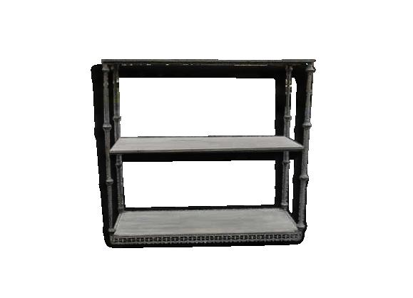 meuble patin gris. Black Bedroom Furniture Sets. Home Design Ideas