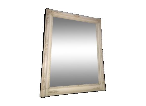 miroir laqu achat vente de miroir pas cher. Black Bedroom Furniture Sets. Home Design Ideas
