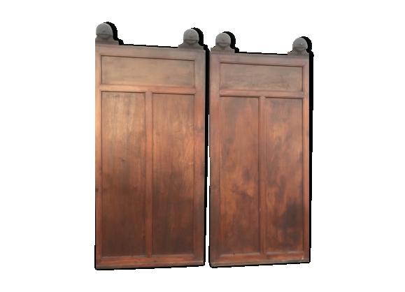 Paire de portes coulissantes