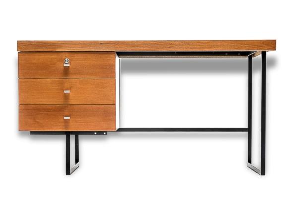 bureau standart pierre guariche pour meurop 1960 bois mat riau bon tat vintage 94251. Black Bedroom Furniture Sets. Home Design Ideas