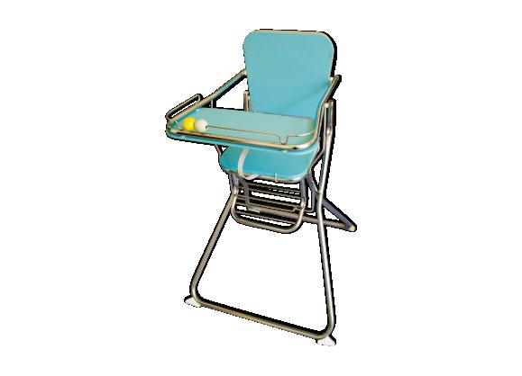 chaise haute plastique bleu bon tat vintage e582806dc32b3296bd69b40dc61c9708. Black Bedroom Furniture Sets. Home Design Ideas