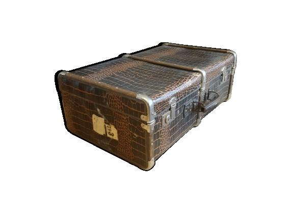 Malle de voyage vintage