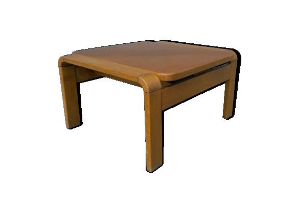 Table basse design scandinave bois