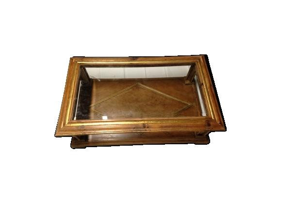 Table basse italienne bois laqué
