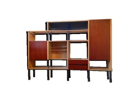 Bibliothèque, étagères et bureau modulables