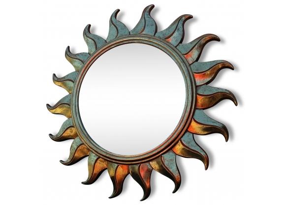 Miroir soleil en resine