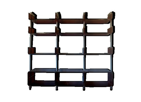 Etag re modulable aluminium et plexiglass fum 1971 plexiglas marron bo - Etagere plexiglas design ...