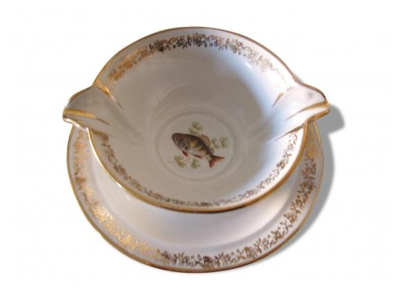 Saucier porcelaine